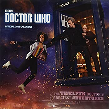 Doctor Who Official 2018 Calendar - Square Wall Format