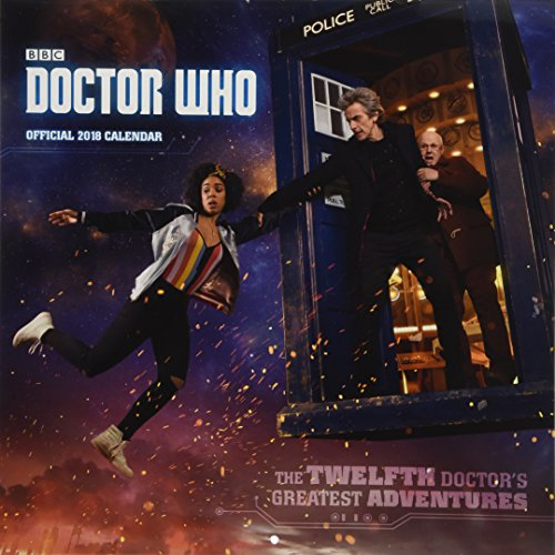 Doctor Who Official 2018 Calendar - Square Wall Format par Doctor Who