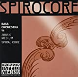 Thomastik-Infeld 3885Spirocore, Bass Saiten, komplett-Set, 3/4Größe, Orchestral Tuning