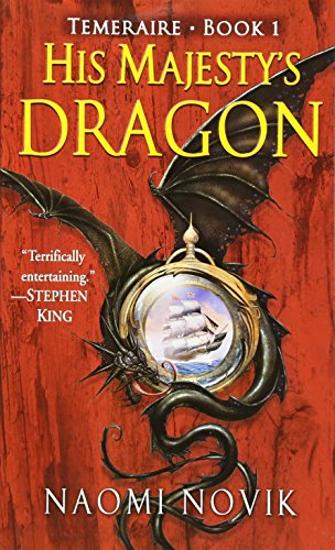 Book cover for His Majesty's Dragon
