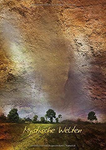 Mystische Welten (Posterbuch DIN A4 hoch): Ins Reich der Fantasie (Posterbuch, 14 Seiten ) (CALVENDO Kunst) [Taschenbuch] [Jan 21, 2013] Brehm, Anke