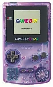 Game Boy Color Violet Transparent