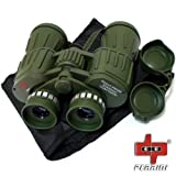 Day/Night 60X50 Military Army Binoculars Camouflage w/Pouch Hunting Camping by PERRINI