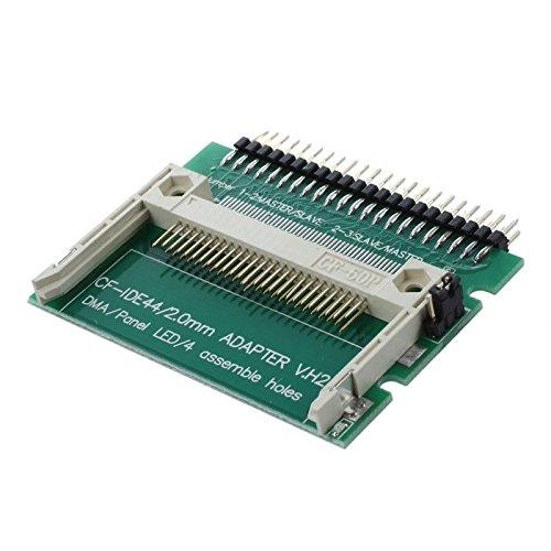 SODIAL (R) IDE 44-Pin Stecker auf CF Kompakter Flash Stecker Verbinder Adapter -