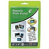 6pochettes photo magnétiques, 2packs de 3
