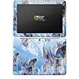 Samsung Galaxy Tab 2 10.1 Autocollant Protection Film Design Sticker Skin HIEN LE Poisson rouge Poissons