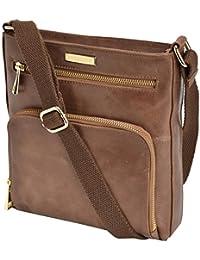 Estalon Leather Crossbody Bag Cross Over Purse Messenger Bags For Women Cross Body Shoulder Handbag