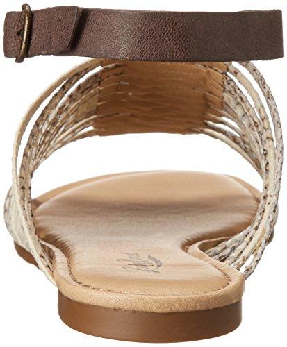 Lucky Brand CABETTE Cuir Sandale Nigori-Java