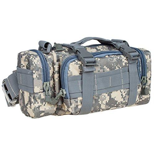 G4Free Tactical Gürteltasche Hüfttasche Beutel für Militär Camping Wandern Outdoor D-ACU Camo