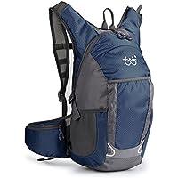 TXJ Impermeable Mochila de Senderismo MúLtiples Funciones Mochila de viaje Escalada Marcha camping ciclismo Deporte Al Aire Libre para Mujeres y Hombres (Azul oscuro(blue), 30 L)
