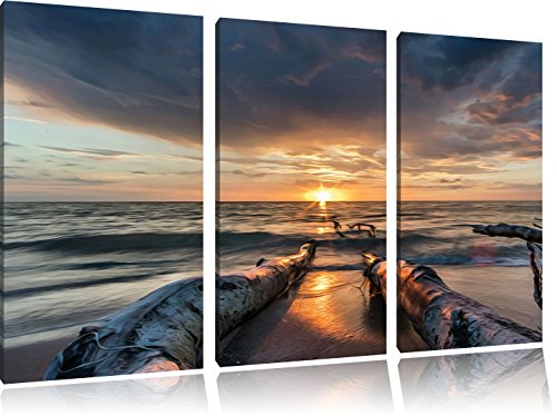 beach-effetto-petrolio-immagine-canvas-3-pc-120x80-immagine-sulla-tela-xxl-enormi-immagini-completam