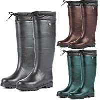 Dublin Teign Neoprene Lined Waterproof Wellington Boots UK 13-8