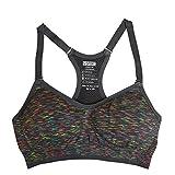 Wongfon Sport-BH für Frauen High Impact Support Wirefree Yoga BH Fitness Übung läuft Tank Top