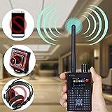 Anti Spy RF Detektor Wireless Bug Detector Signal für versteckte Kamera Laser Lens GSM Hörgerät Finder Radar Radio Scanner Wireless Signal Alarm, G318 Anti-Spy-Verstärkung Signaldetektor
