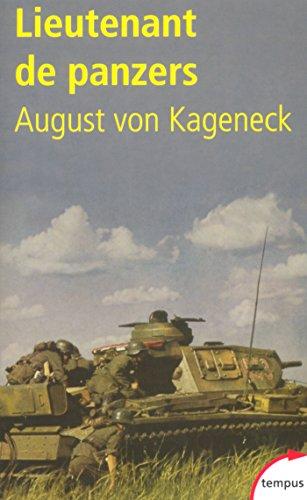 Livres Lieutenant de Panzers pdf, epub