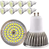 Bombillas Focos LED GU10 6 W 48 SMD 2835 lámparas LED AC85 – 265 V 300LM