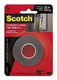 3M Scotch 414/DC extrem starker Montage-Klebeband: 1in. x 60in. (schwarz)