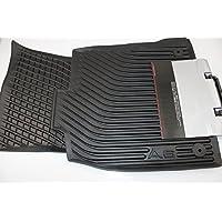 Audi 4G1 061 501 041 - Tappetini in gomma per auto con volante a sinistra, 2 pz, anteriori, nero