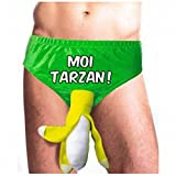 Deguisement Slip plátano yo Tarzán adultos