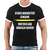 Spaß kostet Männer und Herren T-Shirt Männertag Alkoholtest (mit Rückendruck) Größe S - 8XL