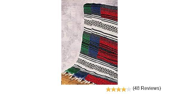 relaxation yoga studio m/éditation couverture boho jet/é de lit Yogi-bare Mexicain style yoga couverture