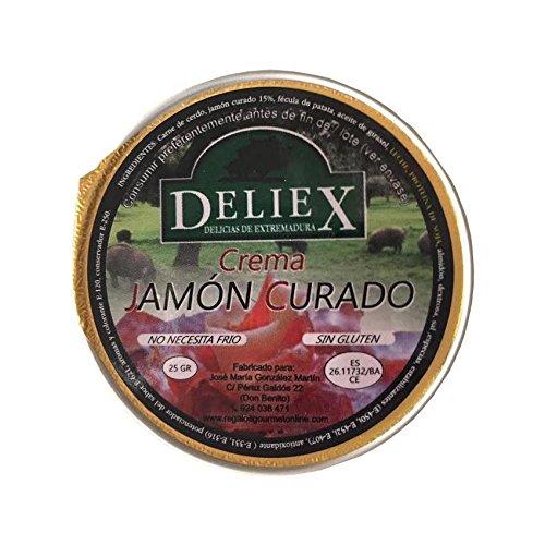Crema de jamón curado Deliex (25g x 45uds)