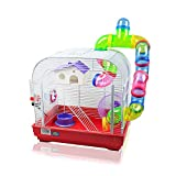 DZL jaula para hamster29.5X29.5X38CM) color azul,purpura y rojo indica color preferido, si no, el...