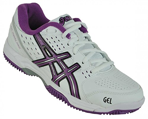 Asics Gel Padel Pro 2 SG mujeres zapatilla deporte tenis Fitness zapatos blanco, Sizes:EU/39-UK/5.5-US/7.5-CM/24.5