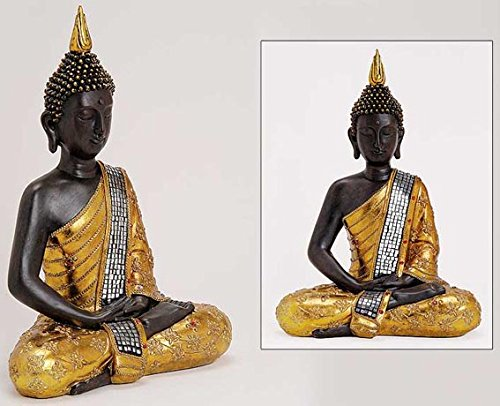 Thailand Buddha-statue (Deko Thailand goldener 30CM BUDDHA Figur Statue Skulptur FENG SHUI NEU)