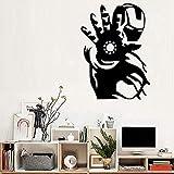 Sticker mural Enfants Garçons Chambre Comics Super-Héros Art Vinyle Home Decor Chambre Murale Top Qualité Amovible 42x58cm