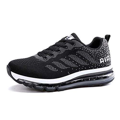 c754dd2fa Monrinda Running Shoes Women Men Air Shock Absorbing Trainers Breathable  Outdoor Fitness Athletic Jogging Sport Shoes