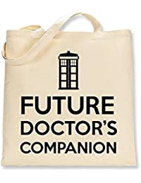 Shaw Tshirts® Future Doctors Companion Dr Who Inspired Tote Bag