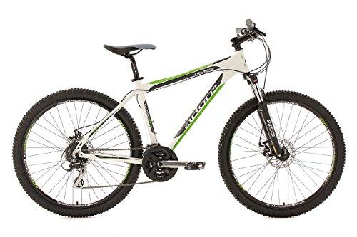 KS CYCLING RICHMOND DE ADORE - BICICLETA DE MONTAñA ENDURO  COLOR BLANCO / VERDE  RUEDAS 26  CUADRO 46 CM