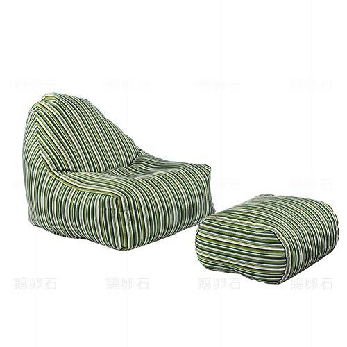 TX Lazy Sofa Schlafzimmer Single Small Sofa FußBall Sitzsack Sofa Stuhl Small Cute Balkon Recliner Landing Lounge Chair Lounge Chair