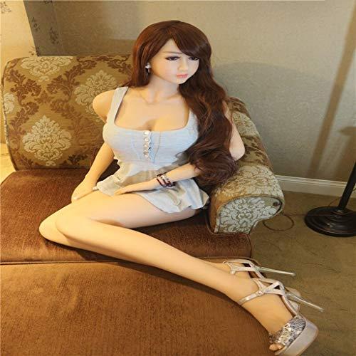Kowz Diese Aufblasbare 1,65-Meter-Puppe Ist Wunderschön Mit Einem Spielzeug Für Erwachsene Dekoriert. Geeignet Für Spiele Mit Verschiedenen Kleidungsstücken. (Versteckte Lieferung)