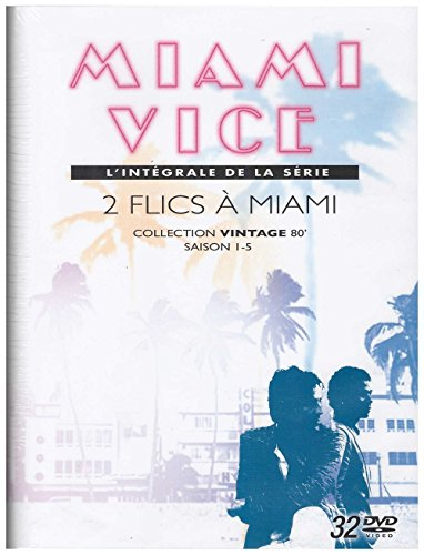 2 Flics A Miami Miami Vice Coffret Integrale Dvd