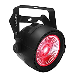 Oppsk Par Lights, 30w Rgb Tricolor Cob Leds With Ir Remote & Dmx Control For Stage Lighting