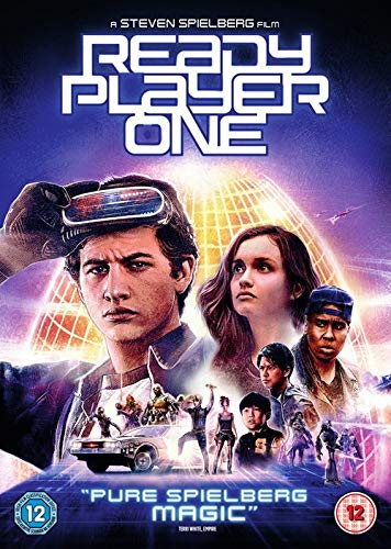 Ready Player One 3D Limited Edition Steelbook / Import / Includes 2D Blu Ray / Region Free Blu Ray (Region Free Blu-ray-player)