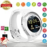 Bluetooth Smart Watch Wasserdicht Handy-uhr Sport Smartwatch Uhr Phone Touchscreen Armbanduhr Smart Uhr Telefon Kompatible IOS Andriod Iphone Smartphones