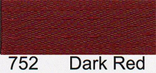 Saum Einfaßband 13 mm breit, Dunkelrot, 20 meter Rolle