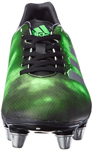 adidas Kakari Sg, Chaussures de Rugby homme Nero (Negbas/Plamet/Versol)