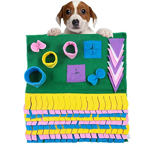 iBâstte Schnüffel-Matte für Hunde,Intelligenzspielze… | 00051031424341