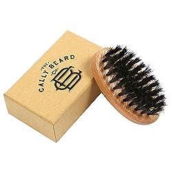 Premium Bartbürste mit Deluxe Geschenk Schachtel - Behandeln Sie Ihren Bart mit Sorgfalt