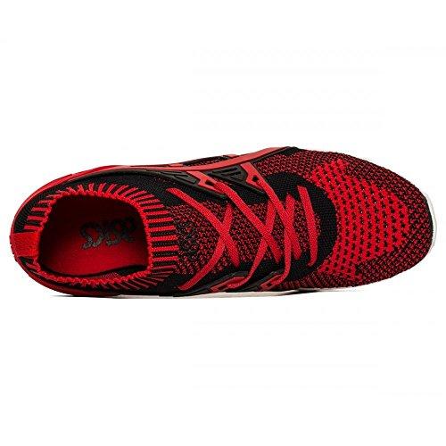 Asics Gel-Kayano Trainer Knit, Scarpe da Corsa Unisex – Adulto Rosso (True Red/True Red)