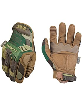Mechanix Wear MPACT M-PACT Gloves WOODLAND CAMO (TAN) MEDIUM (9)