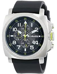Columbia CA101-001 - Reloj para hombres, correa de silicona