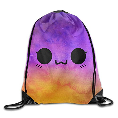 ZZHOO Cute Owl Printed Designs Drawstring Backpack Women Heavy Duty Shoulder Bag Tote Dance 16.9