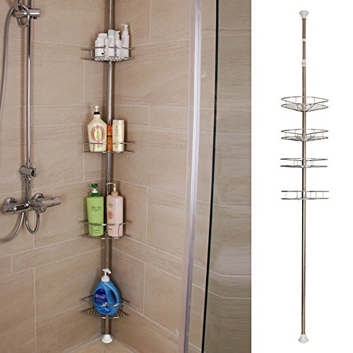 MultiWare Bathroom Storage Shelf Organiser Shower Caddy