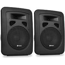 Par de altavoces DJ PA Skytec - 20cm, pasivos, 2x300W