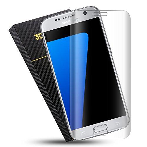 Duractron Protector de Pantalla para Samsung Galaxy S7 Edge, Vidrio Templado, transparente